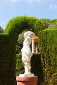 Sculpture au parc del laberint — Photo