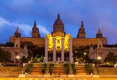 Palau Nacional de Montjuic in Barcelona, Spain — Stock Photo