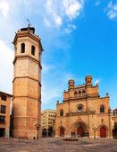 Fadri tower and Gothic Cathedral at Castellon de la Plana — Stock Photo