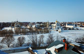 Panoramic view of Suzdal — 图库照片