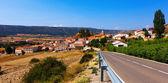 Village in summer day. Frias de Albarracin — Foto de Stock