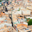 Roofs of old town. Cardona — Stock Photo