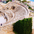 Ruin of Roman amphitheater at Tarragona — Stock Photo