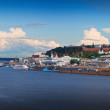 View of historic district of Nizhny Novgorod  — Stock Photo