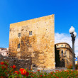 Torre del Pretorio romana in Tarragona — Stock Photo