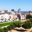 Ordinary view of mediterranean city — Stock Photo