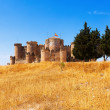General view of Medieval Castle in Belmonte — Stock Photo