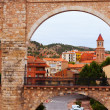 Arch of aqueduct in Teruel — Stock Photo