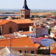 View of town in La Mancha — Stock Photo