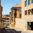 Stock Photo: Narrow street of Huesca