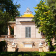 Stock Photo: Neoclassical pavilion at Parc del Laberint de Horta