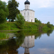 Church of Intercession on River Nerl — Stock Photo #35141747