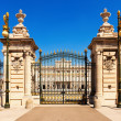 Stock Photo: Front view of Royal Palace Gate