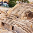 Old Roman amphitheater at Tarragona — Stock Photo