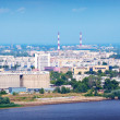 Industry district at Nizhny Novgorod  — Stock Photo