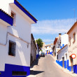 Ordinary street of  town in La Mancha — Stock Photo