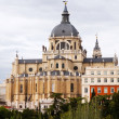 Almudena Cathedral. Madrid — Stock Photo