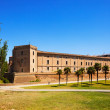 Aljaferia Palace at Zaragoza in summer — Stock Photo #35142591