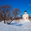 Church of Intercession on River Nerl — Stock Photo #35142713