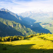 Mountains landscape. Pyrenees, Aragon — Stock Photo