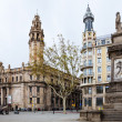 Stock Photo: Barcelona, Main post office building
