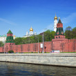 Kind to the Moscow Kremlin — Stockfoto