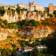 General view of Cuenca  in sumer — Stock Photo