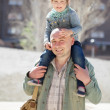 Happy father with adorable daughter — Stock Photo