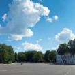 Stock Photo: Full panoramof Yaroslavl - Church of Elijah Prophet