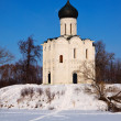 Church of Intercession on River Nerl — Stock Photo #35144109