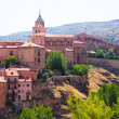 Summer sunny view of Albarracin — Stock Photo