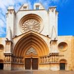 Facade of Tarragona Cathedral — Stock Photo #35144221