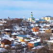 Panoramic view of historical district at Vladimir  — Stock Photo