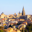 View of old town and Cathedral. Toledo  — Stock Photo