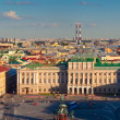 View of from Saint Isaac's Cathedral. St. Petersburg — Stock Photo