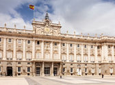 Madrid. Facade of Royal Palace — Stock Photo