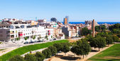 Ordinary view of mediterranean city — Stockfoto