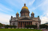 Saint Isaac's Cathedral in St. Petersburg — Fotografia Stock