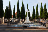 Day view of cemetery. Teruel — Stock Photo