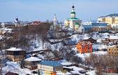 Historical district at Vladimir city — Stock Photo