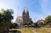 Blick auf barcelona, spanien — Stockfoto