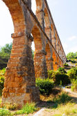 Old roman aqueduct in Tarragona — Stock Photo