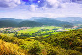 View of catalan mountains valley — Foto de Stock