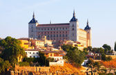 View of Alcazar of Toledo in sunny time — Stock Photo