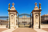 Front view of Royal Palace Gate — Stock Photo