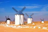 Group of windmills — Stock Photo