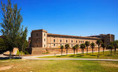 Aljaferia Palace at Zaragoza in summer — Stock Photo