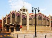 Exterior of Mercado Central in Valencia — Stock Photo