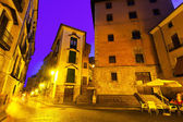 Night view of picturesque old square — Foto de Stock