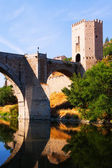 Puente of Alcantara over Tagus River — Stock Photo